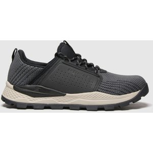 Skechers Black & Grey Riglen Trainers Black/grey 3530217170 460, Black/Grey
