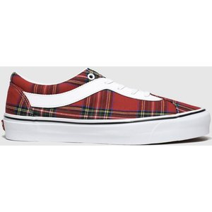 Vans White & Red Bold New Issue Trainers White/red 3425211370 430, White/red