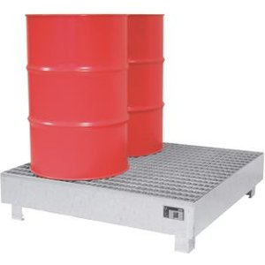 2 Mm Sump For 4 X 200 Litre Drum, Galvanized Office Supplies