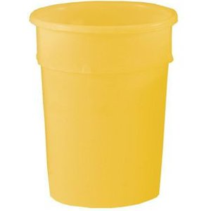 Container - Tapered Storage Yellow. Cap 22.5 Litres