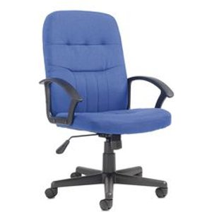 Medium Back Managers Chair - Blue Chairs