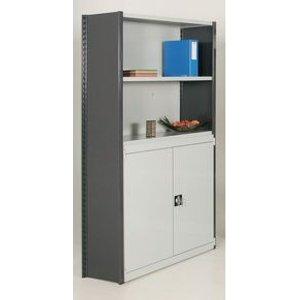 Shelving, Boltless - Add On Closed - 2000 X 1250 X 500 Half Door Storage