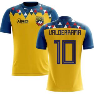Airo Sportswear 2020-2021 Colombia Concept Football Shirt (valderrama 10) - Kids P 131767 3516