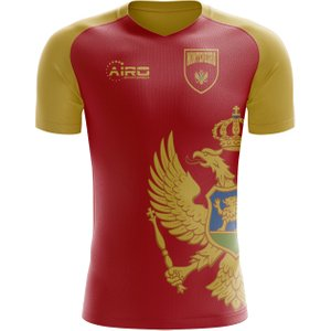 Airo Sportswear 2020-2021 Montenegro Home Concept Football Shirt P 118353 3796