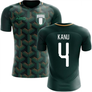 Airo Sportswear 2020-2021 Nigeria Third Concept Football Shirt (kanu 4) P 137678 3428