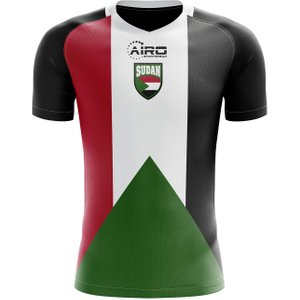 Airo Sportswear 2020-2021 Sudan Home Concept Football Shirt - Adult Long Sleeve P 146791 25132