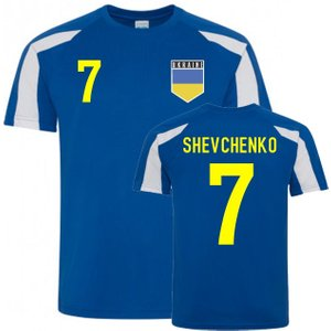 Uksoccershop Andriy Shevchenko Ukraine Sports Training Jersey (blue) P 169197 3782 Football