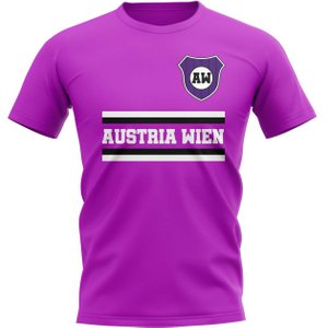 Uksoccershop Austria Wien Core Football Club T-shirt (purple) P 130217 3784