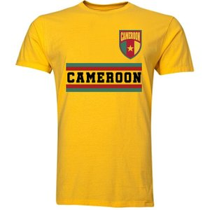Uksoccershop Cameroon Core Football Country T-shirt (yellow) P 127212 27164