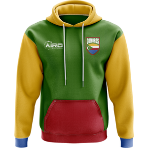 Airo Sportswear Comoros Concept Country Football Hoody (green) P 119555 3796