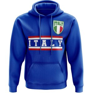 Uksoccershop Italy Core Football Country Hoody (blue) P 129688 3784