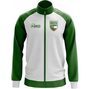 Airo Sportswear Khakassia Concept Football Track Jacket (white) P 127633 3516