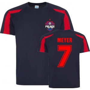 Uksoccershop Max Meyer Crystal Palace Sports Training Jersey (navy-red) P 169658 3787 Football