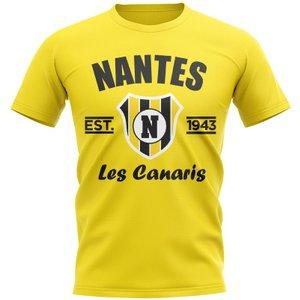 Uksoccershop Nantes Established Football T-shirt (yellow) P 135498 3781