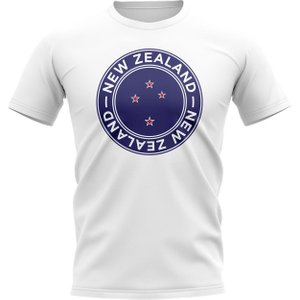 Uksoccershop New Zealand Football Badge T-shirt (white) P 135971 3785