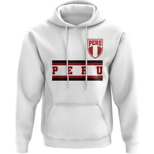 Uksoccershop Peru Core Football Country Hoody (white) P 130022 3785