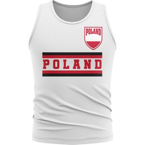 Uksoccershop Poland Core Football Country Sleeveless Tee (white) P 137358 3779
