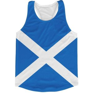 Airo Sportswear Scotland Flag Running Vest P 166367 25136 Football