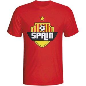 Gildan Spain Country Logo T-shirt (red) P 58297 3779 Football