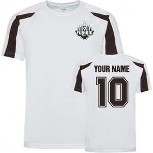Uksoccershop Your Name Fulham Sports Training Jersey (white) P 168802 3782 Football