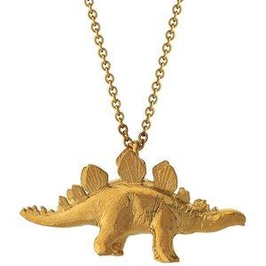 Alex Monroe Stegosaurus Necklace, Gold Nhn3 Gp