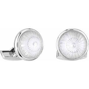 Lalique Toupie Clear Cufflinks 10603700