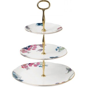Wedgwood Butterfly Bloom 3 Tier Cake Stand 5c107805854
