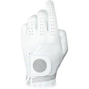 Asher Golf Premium Golf Glove White 2021, White