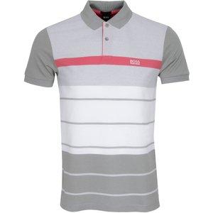 Boss Paddy 5 Polo Shirt Grey Ss21 50448635 038, Grey