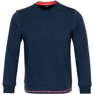 Boss Salbo 1 Sweatshirt Blue Pf21 50452472 410, Blue