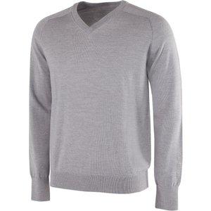 Galvin Green Carl V-neck Sweater Grey Ss21, Grey