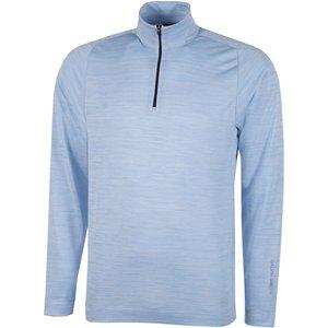 Galvin Green Dixon Insula Half Zip Sweater Blue Ss21 G7973 66, Blue