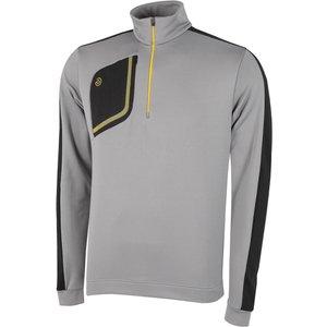 Galvin Green Dwight Insula Half Zip Sweater Grey Ss21 G7944 74, Grey