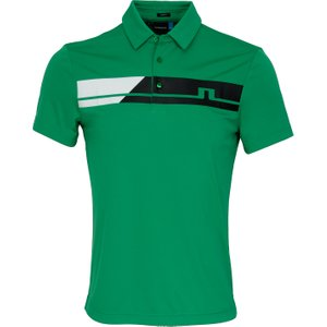 J Lindeberg Clark Tx Polo Shirt Green Clearance20, Green