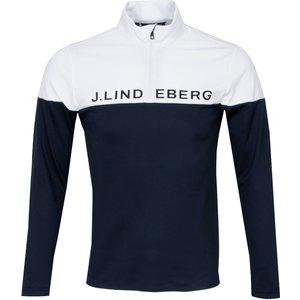 J Lindeberg Dan Mid Sweater Blue Aw20, Blue