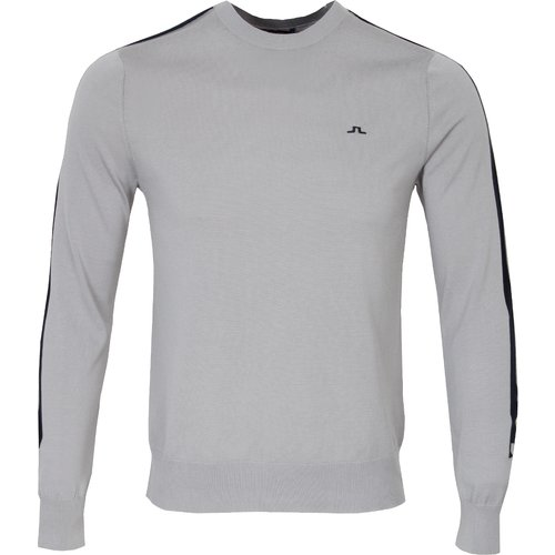 J Lindeberg Kevin Pima Cotton Sweater Grey Clearance20