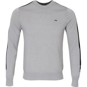J Lindeberg Kevin Pima Cotton Sweater Grey Clearance20, Grey