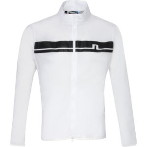 J Lindeberg Lee Light Stretch Wind Pro Windproof Jacket White Ss20, White
