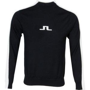 J Lindeberg Ruben Turtle Neck Sweater Black Aw20, Black