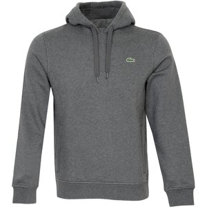 Lacoste Hooded Sweater Grey Ss21 Sh1527 Gy2, Grey