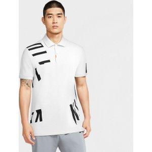 Nike Dry Nike Hacked Polo Shirt White Aw20 Ck6103 100, White