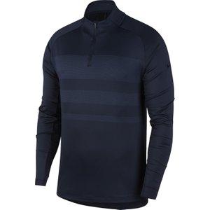 Nike Dry Vapor Zip Neck Sweater Blue Aw20 Bv0390 451, Blue