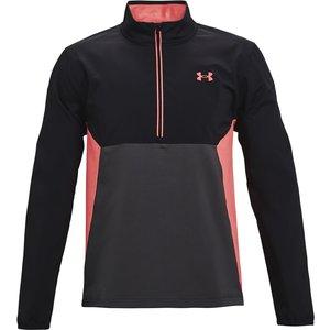 Under Armour Storm Windstrike 1/2 Zip Windproof Golf Sweater Grey Ss21 1361863 010, Grey