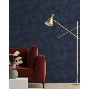 Ted Baker Tropical Forest Wallpaper Navy , Navy