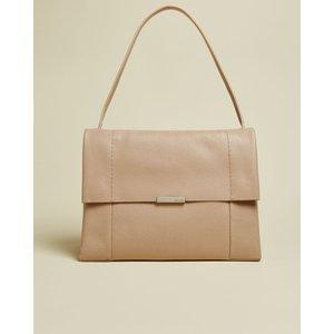 Ted Baker Leather Shoulder Bag Taupe , Taupe