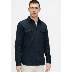 Ted Baker Military Style Shirt Navy , Navy