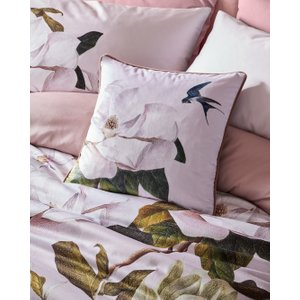 Ted Baker Opal Feather Filled Cushion Pale Pink , Pale Pink