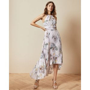 Ted Baker Woodland Pleated Maxi Dress Pale Pink, Pale Pink