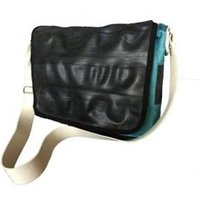Cycle Of Good Inner Tube & Canvas Courier Bag