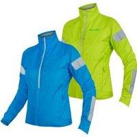 Endura Urban Luminite Waterproof Womens Jacket  Medium - Hi-viz Yellow
